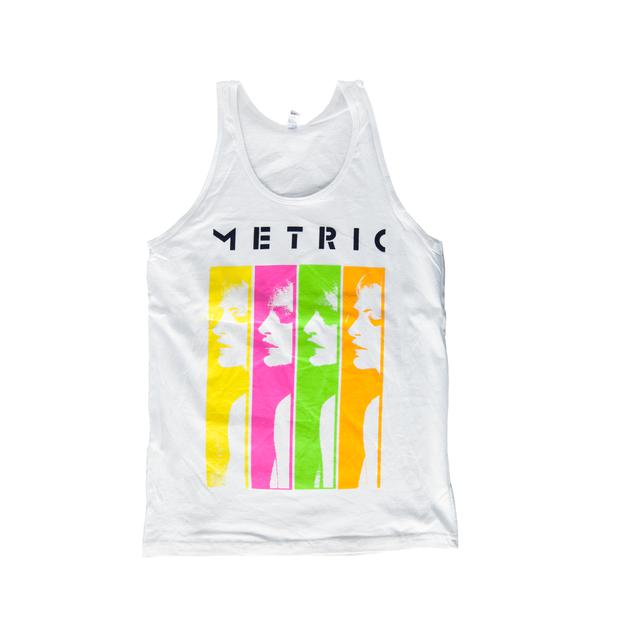 Metric Sliced Tank Top