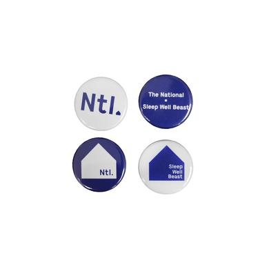 The National SWB Button Set