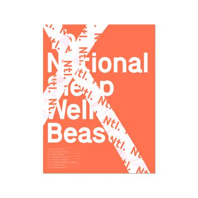 The National US Tour Poster - October 2017 (Neon Orange)