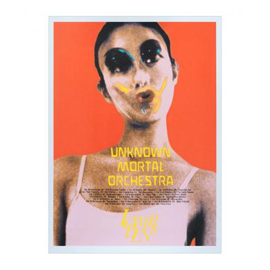 Unknown Mortal Orchestra 2016 Winter Tour Poster
