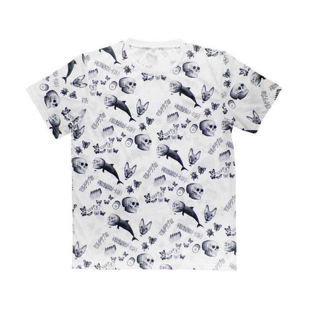 Unknown Mortal Orchestra Multi-Love Pattern T-Shirt