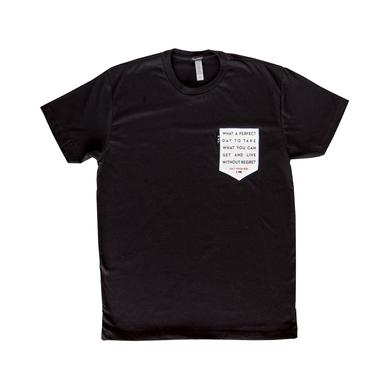 Half Moon Run Lyric Pocket T-Shirt