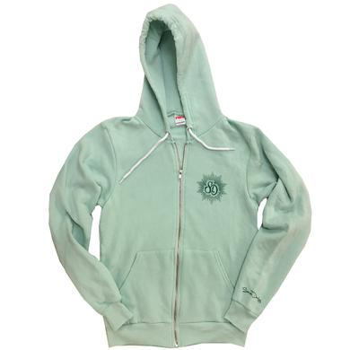 Sarah Darling Soft Mint Zip Up Hoodie