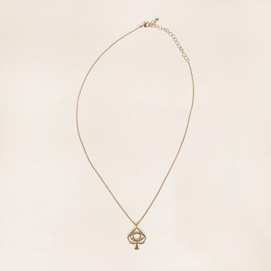 All Time Low Spade Necklace (Gold)
