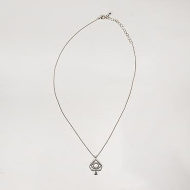 All Time Low Spade Necklace (Silver)