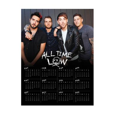 All Time Low 2017 Calendar Poster