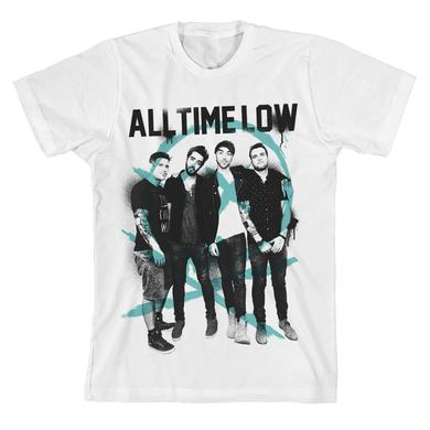 All Time Low Spray Skull T-Shirt