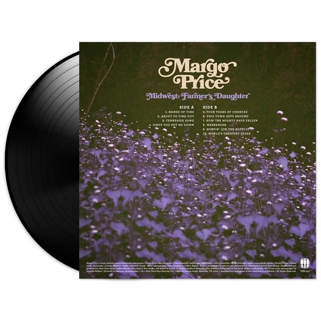Margo Price Midwest Farmer's Daughter LP (Vinyl)