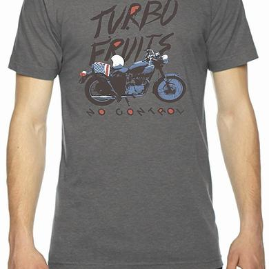 Turbo Fruits Motorcycle Grey Crew Shirt
