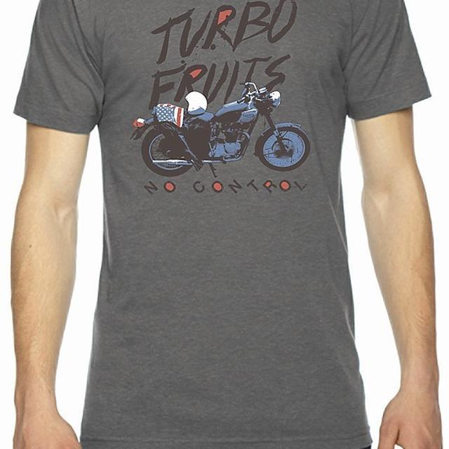 Turbo Fruits Motorcycle Grey Crew Shirt
