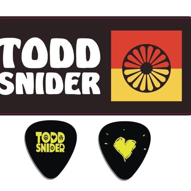 Todd Snider Guitar pick tin set