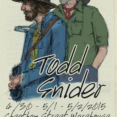 Todd Snider Cheatham Street Warehouse print
