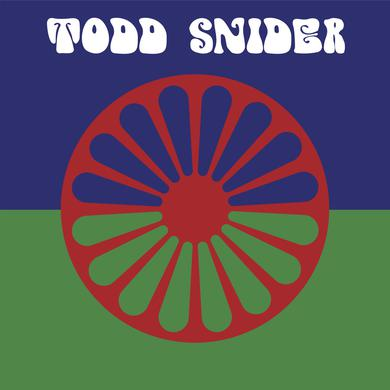 Todd Snider oval gypsy sticker