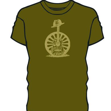 Todd Snider Green Guitar Sketch Shirt