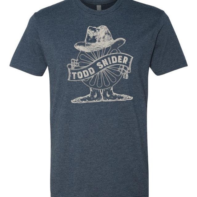 Todd Snider Men's Navy Wheel Tee