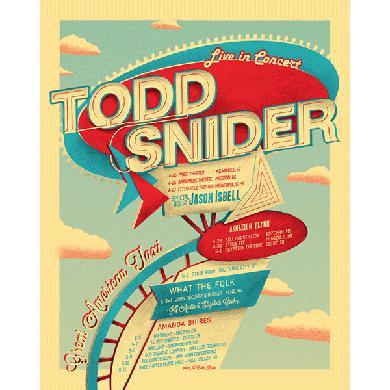 Todd Snider Motel Poster Print