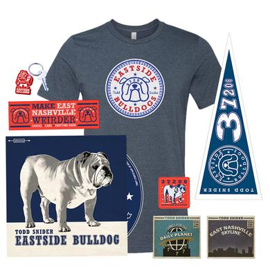 Todd Snider Bulldog Bundle -- Crew Shirt