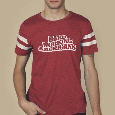 Hard Working Americans Red AA Jersey Shirt