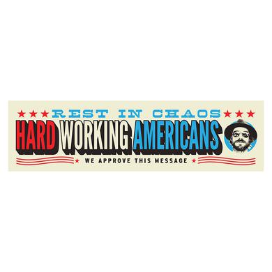 Hard Working Americans RIC Vinyl Bumper Sticker