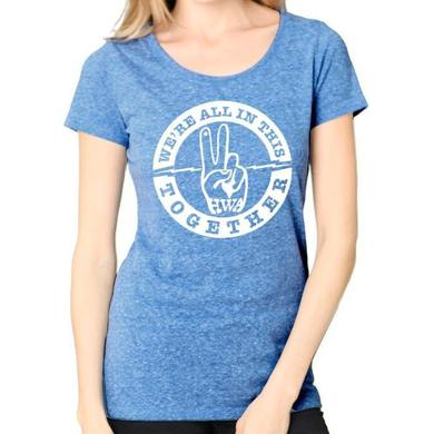 "Hard Working Americans ""We're All In This Together"" Women's Tee"