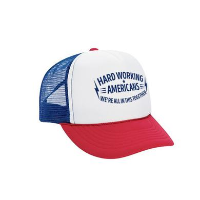 "Hard Working Americans ""We're All In This Together"" Logo Trucker Hat"