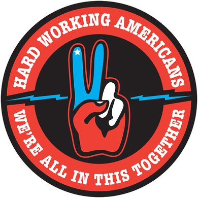 "Hard Working Americans ""We're All In This Together"" Sticker"