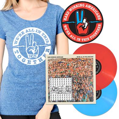 "Hard Working Americans PRE-ORDER ""We're All In This Together"" Limited Edition Vinyl Bundle (3 shirt styles available)"