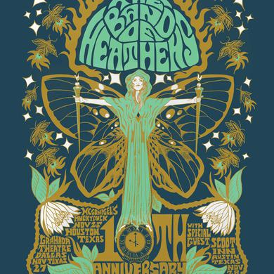 Band Of Heathens 10 Year Anniversary Poster