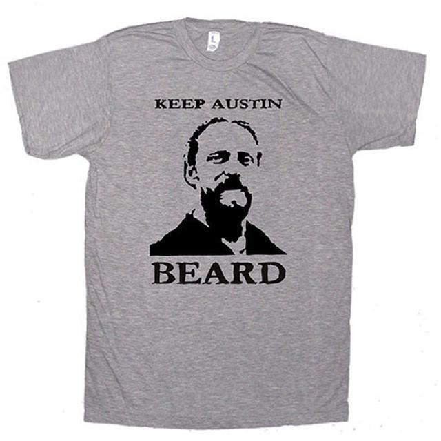 Band Of Heathens Keep Austin Beard T-Shirt