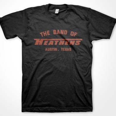 Band Of Heathens Black Racing Stripe T-Shirt