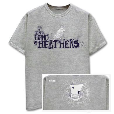 Band Of Heathens Grey Royal Bird T-Shirt