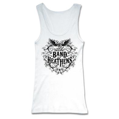 Band Of Heathens Ladies White Tank Top