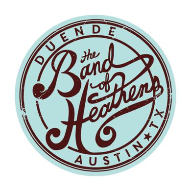Band Of Heathens Duende Circle Stickers