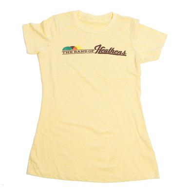 Band Of Heathens Ladies Canary Drum Head Shirt