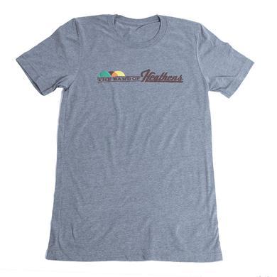Band Of Heathens Unisex Grey Drum Head Shirt