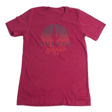 Band Of Heathens Men's Red Duende T-Shirt (Orange Logo)