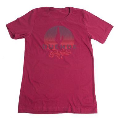 Band Of Heathens Men's Red Duende T-Shirt (Orange Logo)
