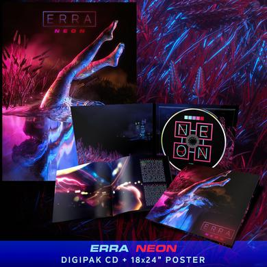 ERRA - 'Neon' CD Digipak Pre-Order Bundle