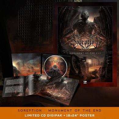 Soreption - 'Monument of the End' CD Digipak Pre-Order Bundle