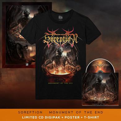 Soreption - 'Monument of the End' Album Art Tee Pre-Order Bundle