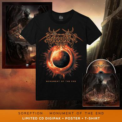 Soreption - 'Monument of the End' Dead Earth Tee Pre-Order Bundle
