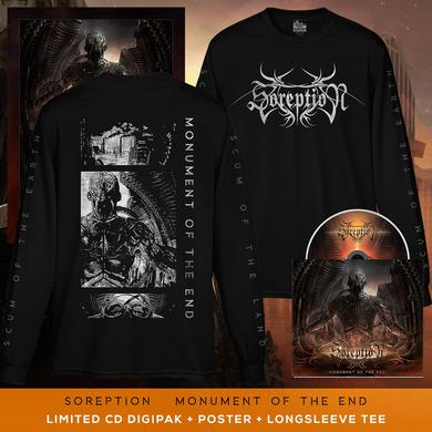 Soreption - 'Monument of the End' Long Sleeve Pre-Order Bundle