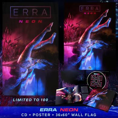 ERRA - 'Neon' Wall Flag Pre-Order Bundle