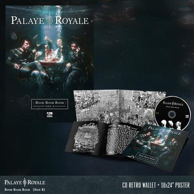 Palaye Royale - 'Boom Boom Room (Side B)' CD Digipak Pre-Order Bundle