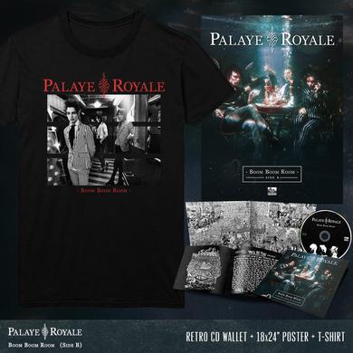 Palaye Royale - 'Boom Boom Room (Side B)' Hallway Tee Pre-Order Bundle