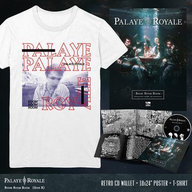 Palaye Royale - 'Boom Boom Room (Side B)' Photograph Tee Pre-Order Bundle