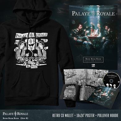 Palaye Royale - 'Boom Boom Room (Side B)' Hypnotize Hoodie Pre-Order Bundle