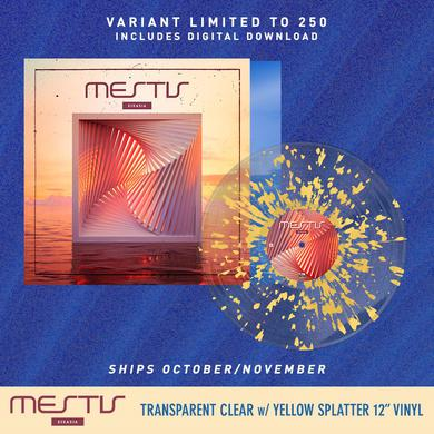 Mestis - 'Eikasia' Clear w/Light Yellow Splatter Pre-Order Vinyl