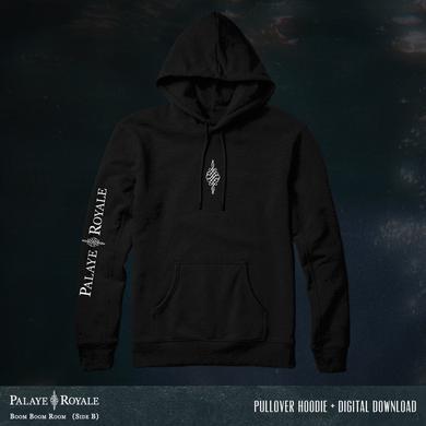 Palaye Royale - 'Boom Boom Room (Side B)' Pullover Logo Hoodie Flash Bundle
