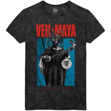 Veil Of Maya - Octolady Mineral Wash Tee